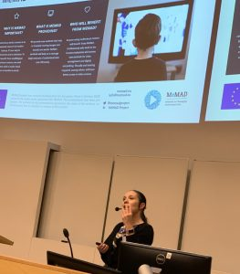 Memad project presentation at Translating Europe Workshop in January 2020